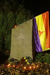 Gedenkplakette Spanienkämpfer Potsdam